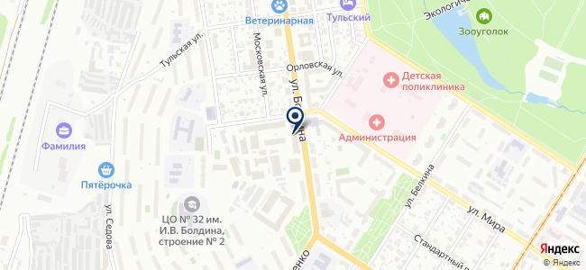 Лимако, ЗАО на карте