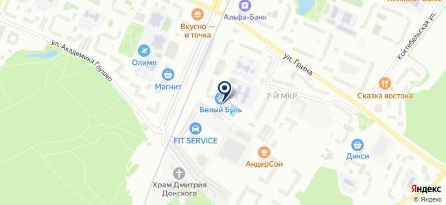 Tamano на карте