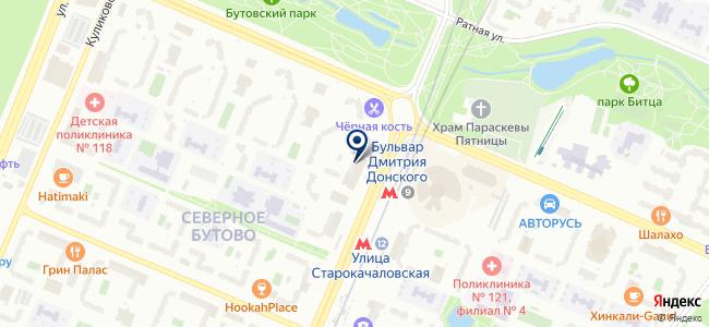 Магазин товаров для дома на бульваре Дмитрия Донского, 2 к1 на карте
