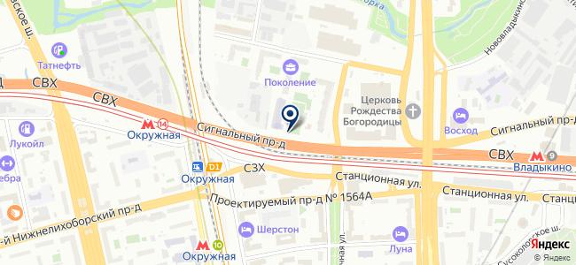 МАС на карте