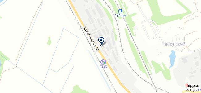Промторгсервис, ООО на карте