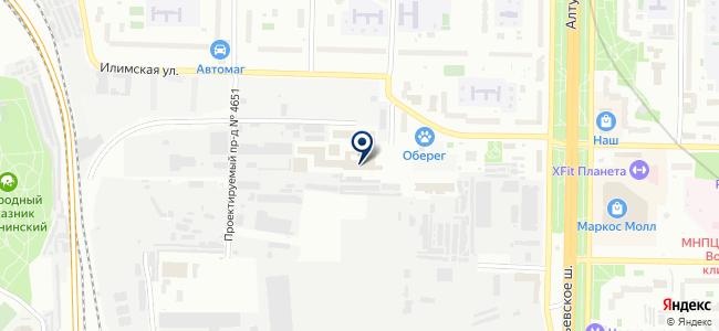 Горная Автоматика на карте