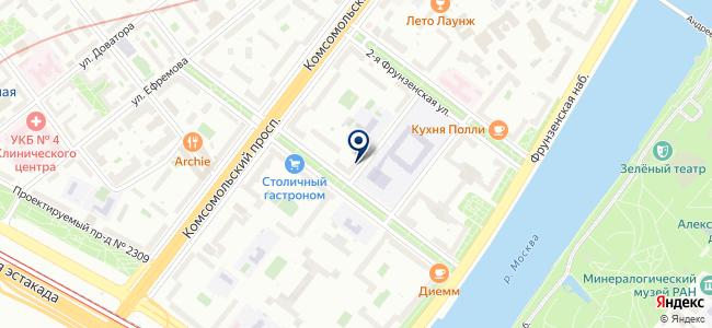Хэлл-сервис на карте