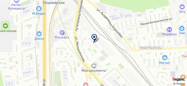 Викс-1 на карте