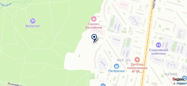 Чертаново-Быт на карте