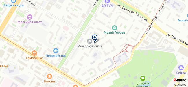 Симон Электрик на карте