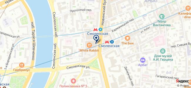 Интерьерная Лавка на карте