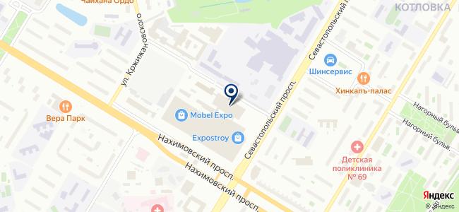 Джи-Би-Эм Лайт на карте