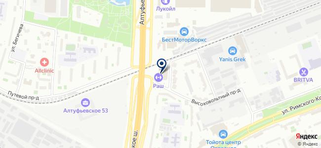 ТанКос-электропроект на карте