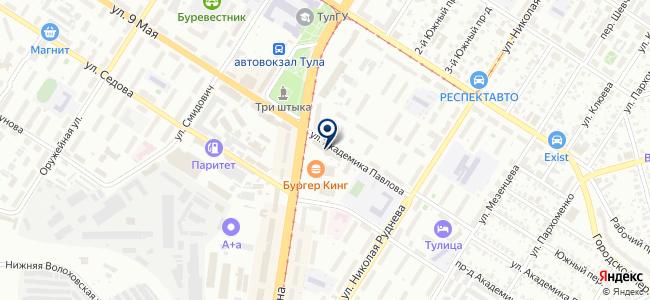 Электрон на карте