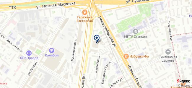 ЛайтКонтракт на карте