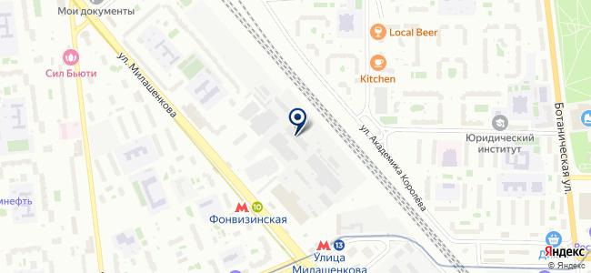 Центр Современных Технологий Связи, ООО на карте