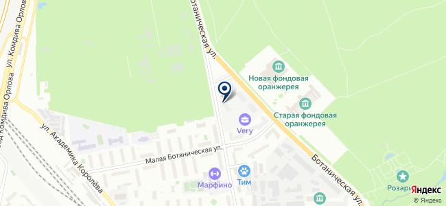 Понтаж на карте