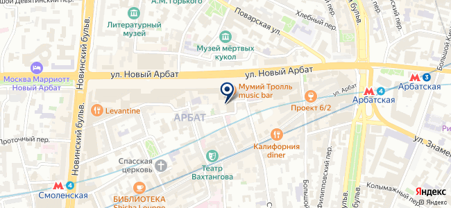 Технопромэкспорт ВО, ОАО на карте