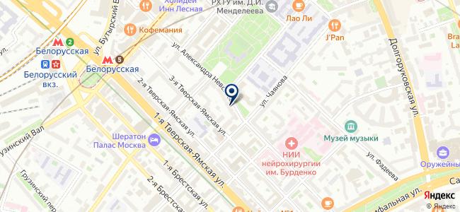 Икстайл на карте