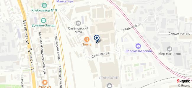 Neotop.ru на карте