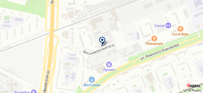 Электросетьстройпроект, ЗАО на карте
