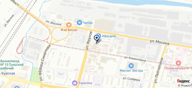 Интер-Свет на карте