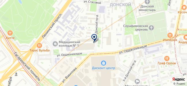 Сандимакс на карте