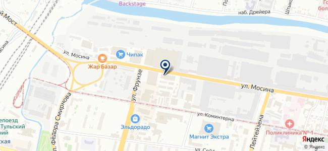 Конфорка-Плюс на карте