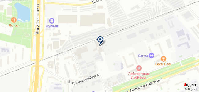 Аксион Электро на карте