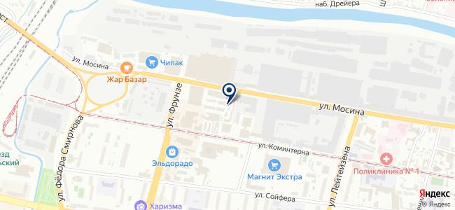 Магазин люстр на карте