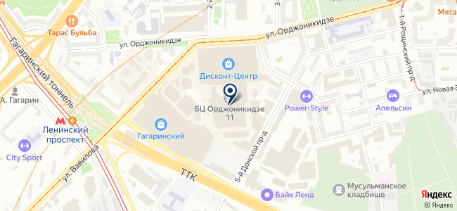 Аверс-РНД на карте