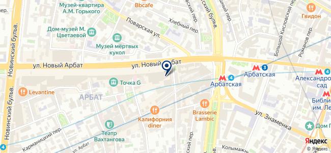 Сеть магазинов биноклей и оптических приборов на карте