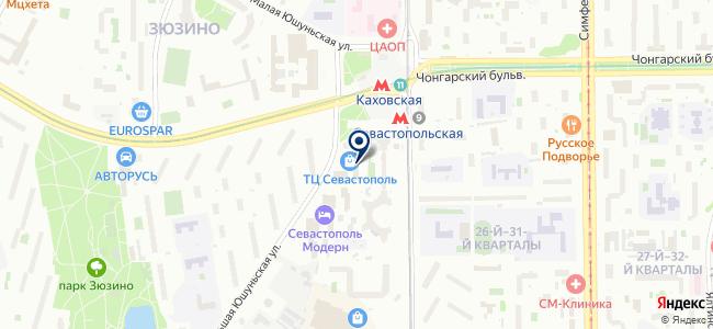 Магазин электротоваров на Большой Юшуньской, 1а к4 на карте