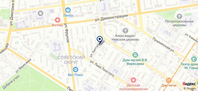 Модем, ООО на карте