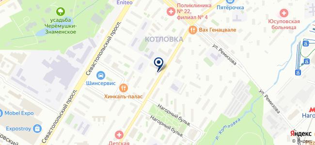 Магазин электротоваров и бытовой техники на карте