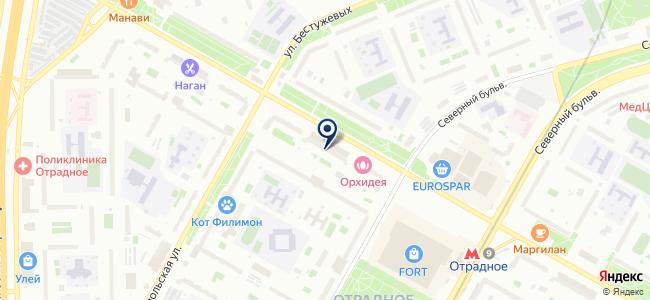 Канделла на карте