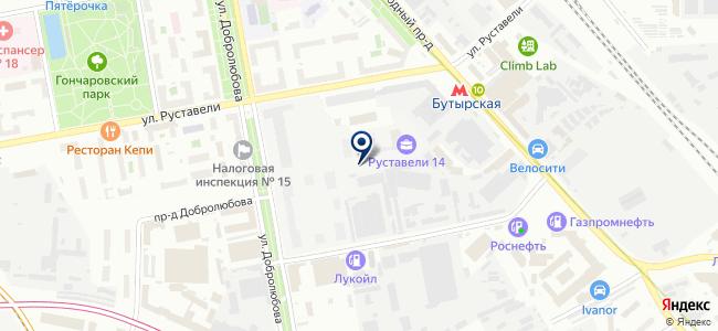 Евроредуктор на карте