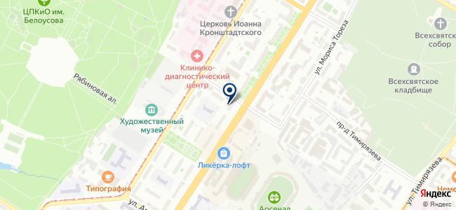 Теплотехника на карте