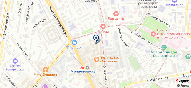 Cosmorelax на карте
