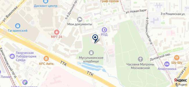 Дусс Русланд, ООО на карте