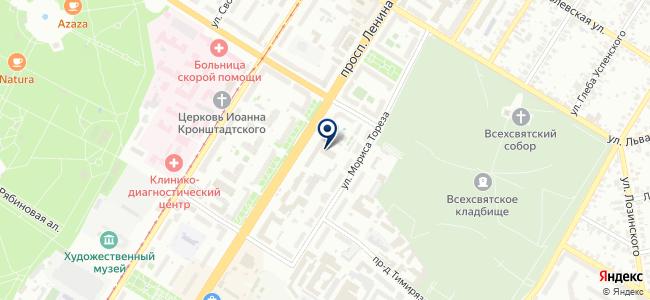 Лидер СБ, ООО на карте