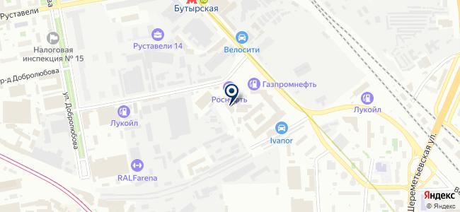Три Эс 2001 на карте