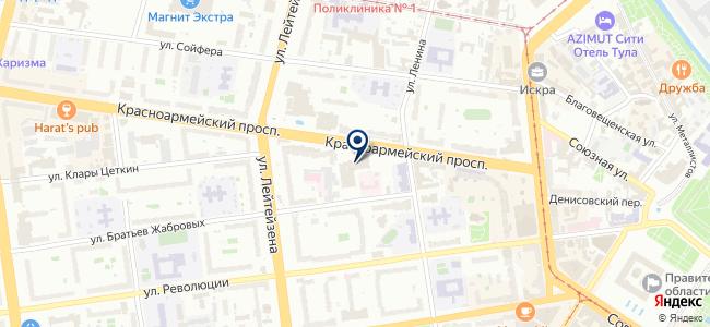 Тулакомплектснаб, ООО на карте