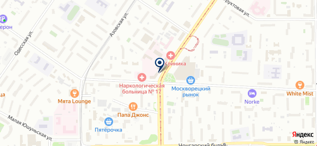 Электроскат на карте