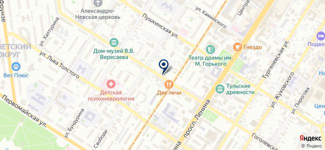 Анкер+, ООО на карте