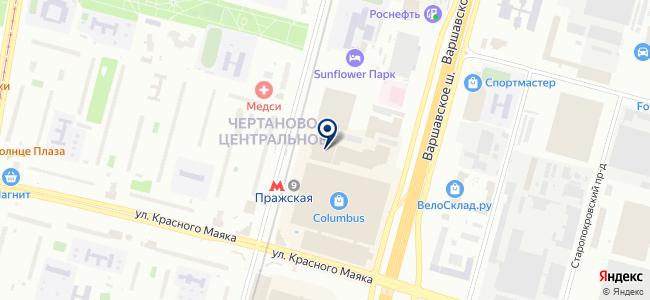 Светоник на карте