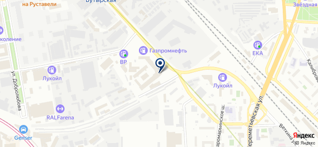 Дельта-Привод на карте