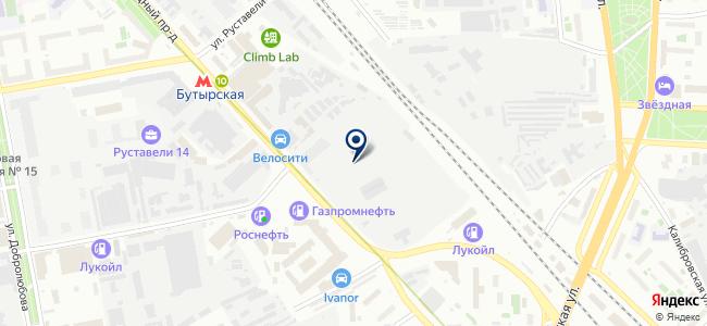 СТИ-ЮГ на карте