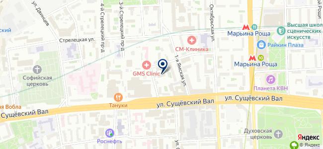 Этирекс на карте