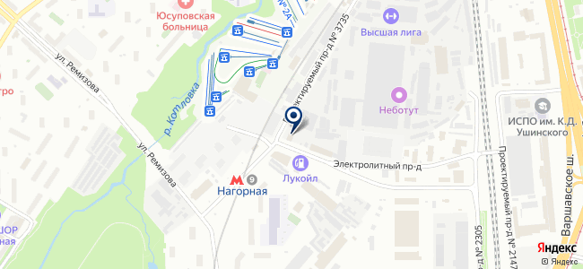 Ансет-ТМ на карте