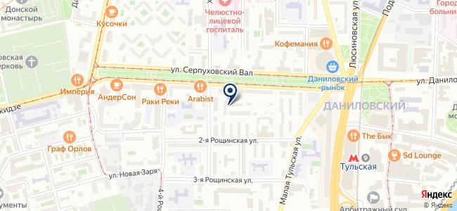 Московский завод электроизмерительных приборов, ЗАО на карте