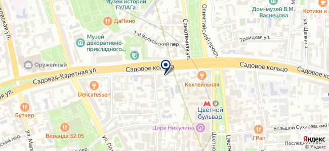 Такском на карте