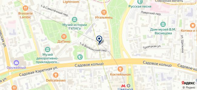 Стример Мск на карте