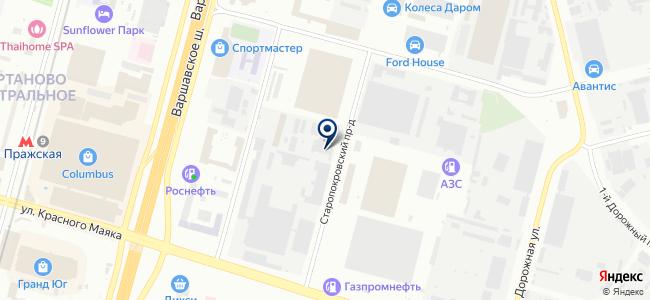 Гранд-Электро на карте